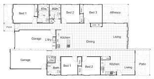 Dual Occupancy Floor Plans Parkside Bethania Qld Nieuvision