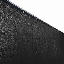Backyard Fence Amazon Com Aleko 4 X 25 Feet Black Fence Privacy Screen Outdoor