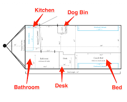 the floor plan of a tiny home business insider