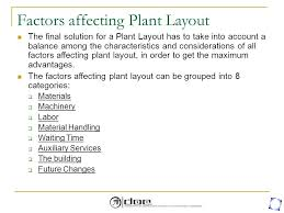 warehouse layout factors facility layout planning introduction objectives of plant layout