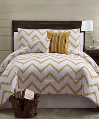 Chevron Bedding Queen Gold Zigfield Comforter Set Something Special Every Day Master
