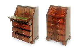 bureau standard reproduction bureau writing desk chesterfields direct