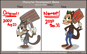 Character Memes - character development meme by slainmonkey on deviantart