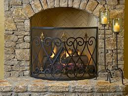 fireplace screen decorative