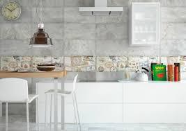 credence en carrelage pour cuisine crédence cuisine moderne pour un intérieur chic et original