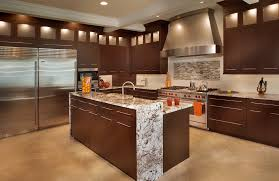 integrated kitchens kitchen contemporary dark and light cabinets