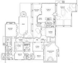 First Floor House Plan Casa Murillo Retirement House Plans Luxury Floor Plans