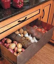 vegetable storage kitchen cabinets 15 best food storage ideas improving modern kitchen design