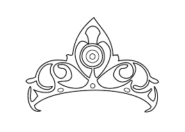 sheets princess crown coloring pages 22 for your line drawings