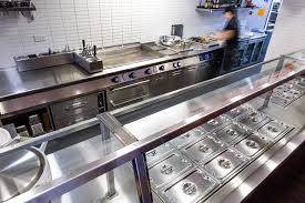 catering projects commercial kitchen chipotle wardour street