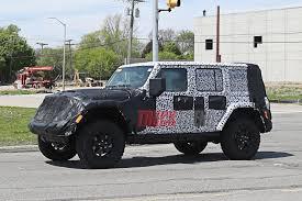 jeep wrangler 2018 2018 jeep wrangler jl interior revealed