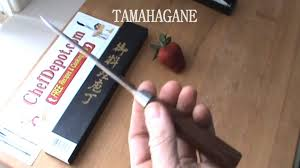 tamahagane kitchen knives tamahagane knife youtube