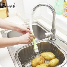 cleaning kitchen faucet kitchen faucet accessories water bathroom brush vegetable fruit