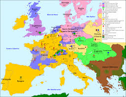 Religious Map Of Europe by Mapping Reformation Europe Oupblog