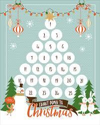 christmas countdown calendar countdown calendar for christmas printable blank calendar 2017