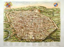 map of bologna bologna italy image of the week earth