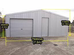 realestateads com au huge zincalume garage shed 3 13m height x