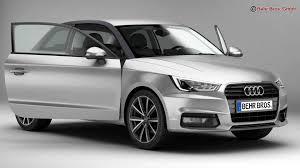 audi 2015 audi a1 2015 3d model vehicles 3d models automobile 3ds max fbx