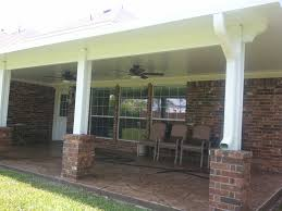 Aluminum Patio Covers Patio Cover Houston Builder Of Custom Covered Patio And Houston