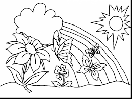 astonishing spring flower coloring pages with coloring pages for