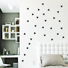 sticker picture more detailed picture about geometric triangles geometric triangles wall stickers home decor bedroom diy wall decals vinyl stickers for wall decoration pegatinas