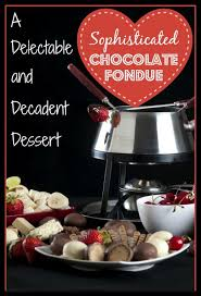cognac cuisine chocolate fondue with honey and cognac delishably