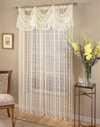 Crochet Curtain Designs 28 Curtain Patterns Claudine Curtain Valance Sewing Pattern