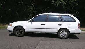 1995 toyota corolla station wagon 1995 toyota corolla dx station wagon 5 door 1 8l 4 cyl manual