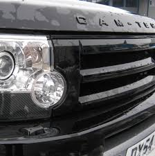 custom land rover lr3 java black original style front grille upgrade kit fr land rover