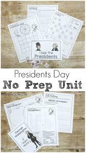 this no prep printable presidents day unit study will make
