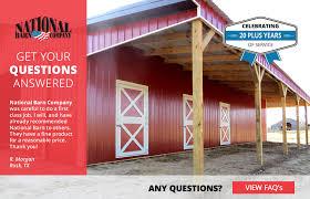 Pole Barns Colorado Springs About National Barn Company Post Frame Buildings Pole Buildings