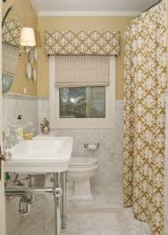 Bathroom Window Curtains by Fancy Small Bathroom Window Treatment Ideas With Small Bathroom