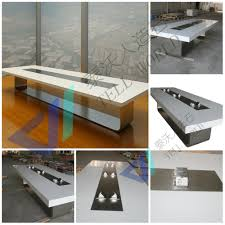 U Shaped Conference Table Table With Power Outlet Home Table Decoration