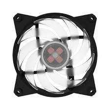 120mm rgb case fan cooler master masterfan pro 120mm air balance rgb case fan ln82216