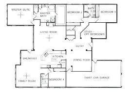 single story floor plans single story 5 bedroom floor plans single story open floor plans