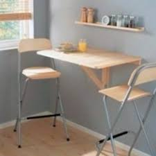 Small Folding Kitchen Table Yes You Too Can Have An Eat In Kitchen Ikea U0027s Wall Mounted Drop