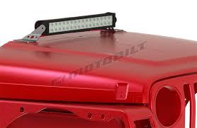 jeep jk hood led light bar led light bar hood mount kit 21 5 inch jeep tj