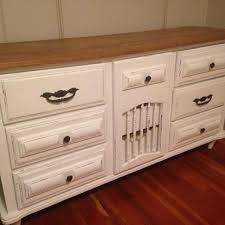 White Wood Changing Table Find More White Wood Dresser With Oak Top Changing Table Console