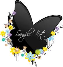 vector butterfly landing flower free vector 11 539 free