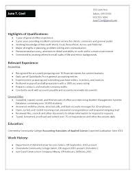 functional resume sle secretary comfortable accounting functional resume template gallery