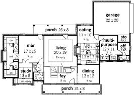 plantation style floor plans stately plantation style design 5579br architectural designs