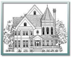 Queen Anne House Plans Historic 170 Best Blueprints Images On Pinterest Floor Plans Home Plans