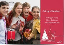 customised business christmas cards and corporate christmas cards