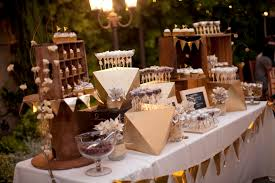 Vintage Candy Buffet Ideas by If Those Black Table Liners With Purple My Little White Dress