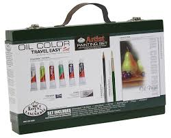 royal and langnickel travel easy acrylic painting set amazon co