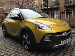 opel adam yellow which car on twitter