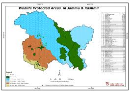 Map India Maps Of Protected Areas In India
