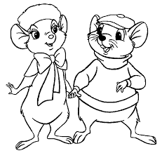 the rescuers coloring pages wecoloringpage