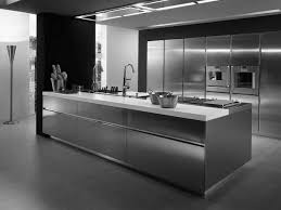 stainless steel kitchen design contemporary stainless steel