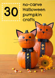 mini pumpkin carving ideas 30 of our favorite no carve halloween pumpkin crafts easy and